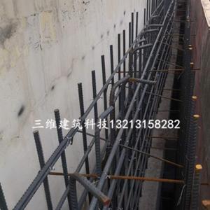 嵩縣中醫院墻和頂板加大截面加固